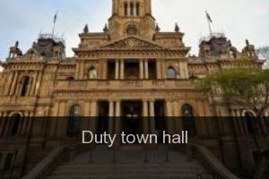 Duty Town hall