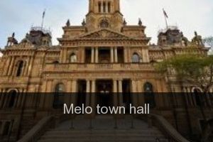 Melo Town hall