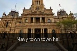 Navy town Town hall