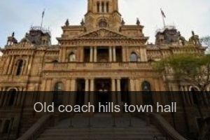 Old coach hills Town hall