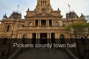 Pickens county Town hall